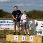 Die Gewinner der Juniorenwertung bei der 3. Colmar Elsass Trophy - v.l. Bernhard Flixeder (2), Axel Hansoulle (1)