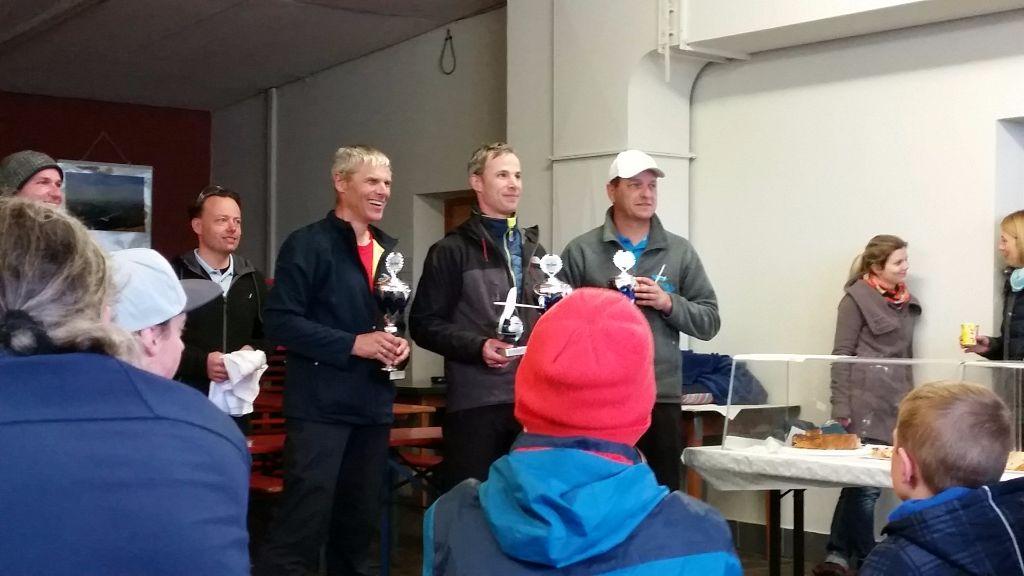 Die Gewinner der Kirchheim Open 2016 (v. l. Thomas Gruber, Martin Herrig, Denis Duchesne)
